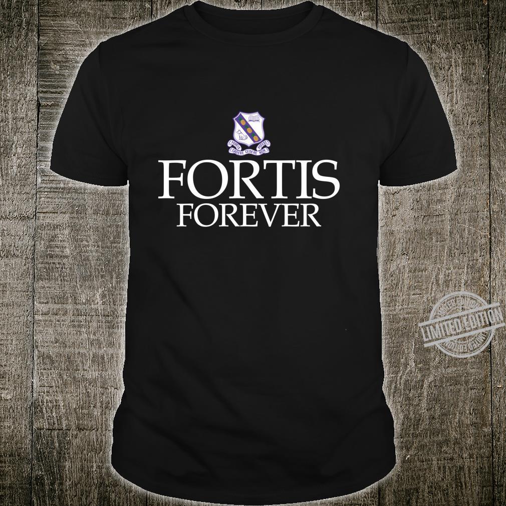 Fortis für immer Kingston College Fan Geschenk Shirt