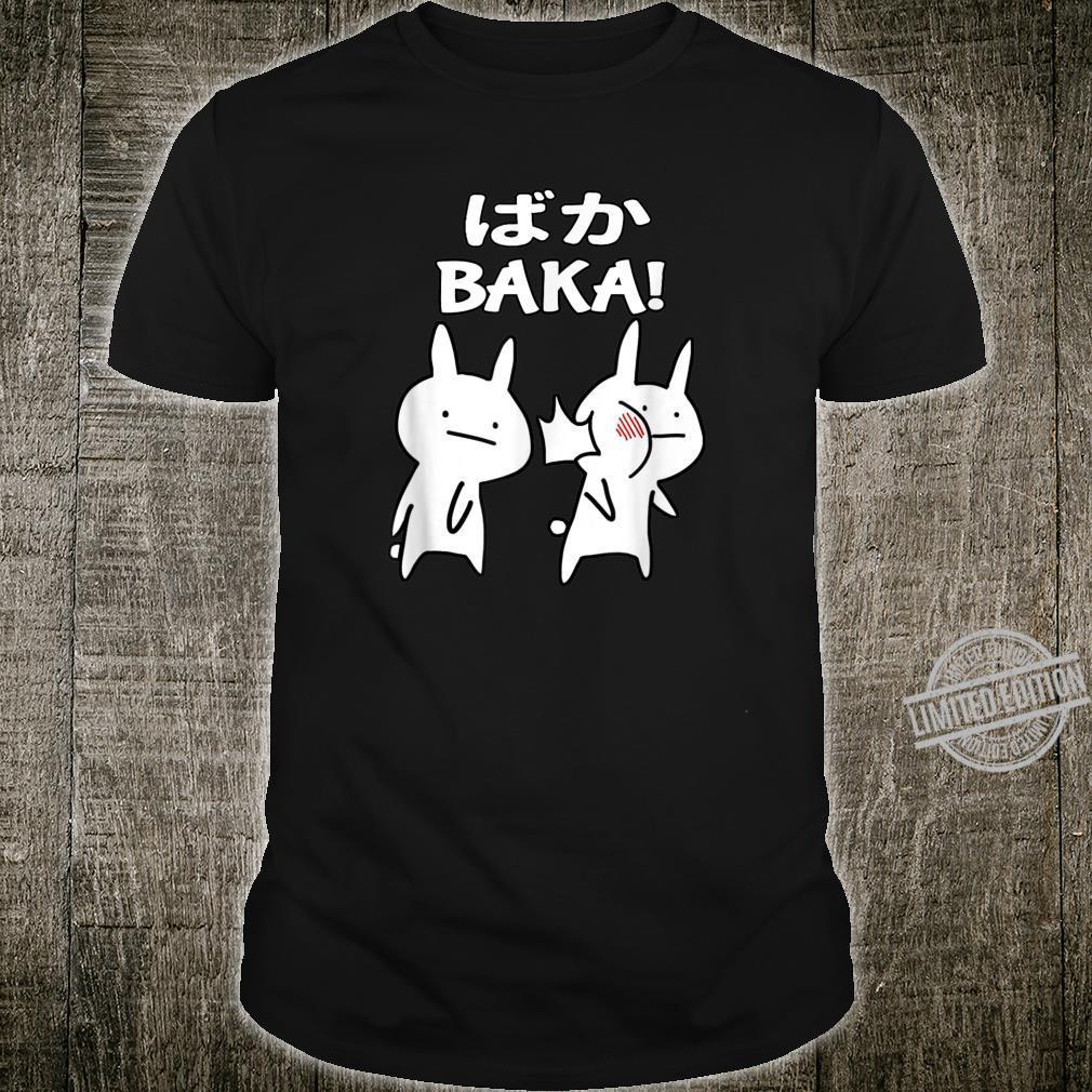 Funny Anime Japanese Baka Rabbit Slap Baka Cute Japanese Shirt