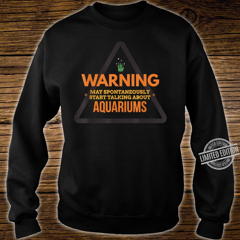 Funny Aquarium Aquarium for Aquaristics Shirt sweater