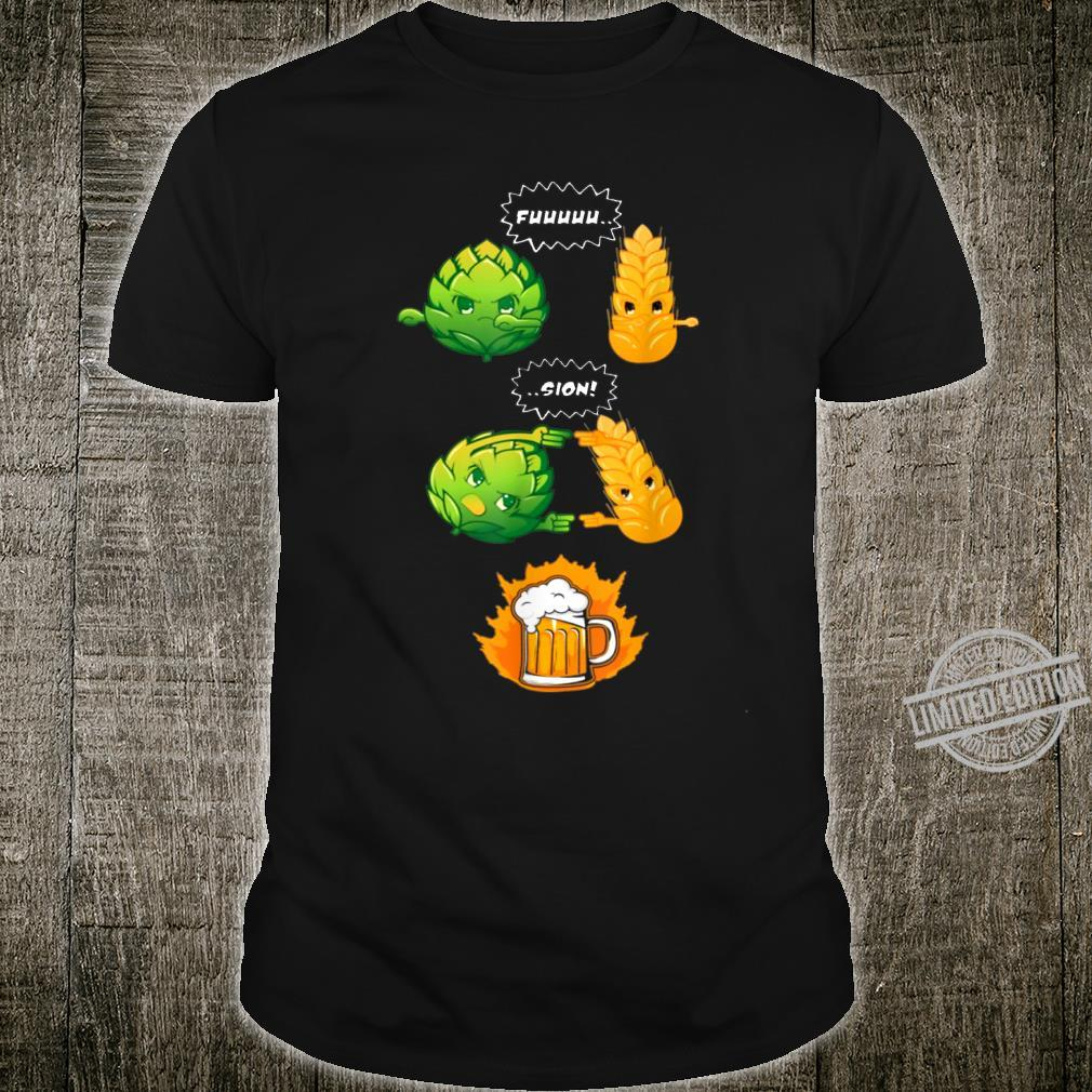 Funny Beer Fusion Shirt I Perfect Alcohol Drinkers Shirt