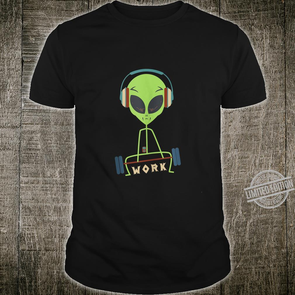 Funny workout, gym and deadlifting alien Shirt