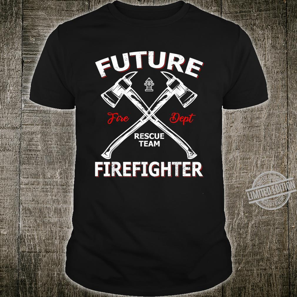 Future Firefighter Rescue Team Shirt