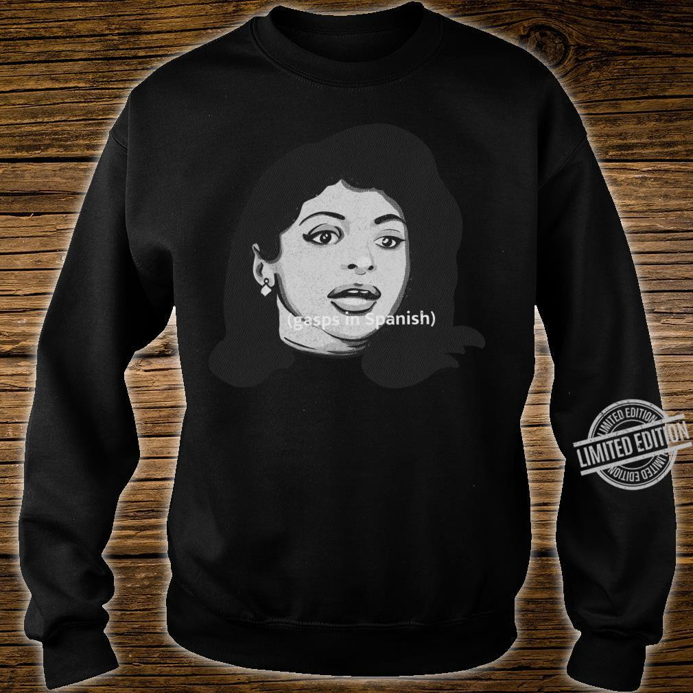 Gasps in Spanish Meme Print by Maniak Shirt sweater