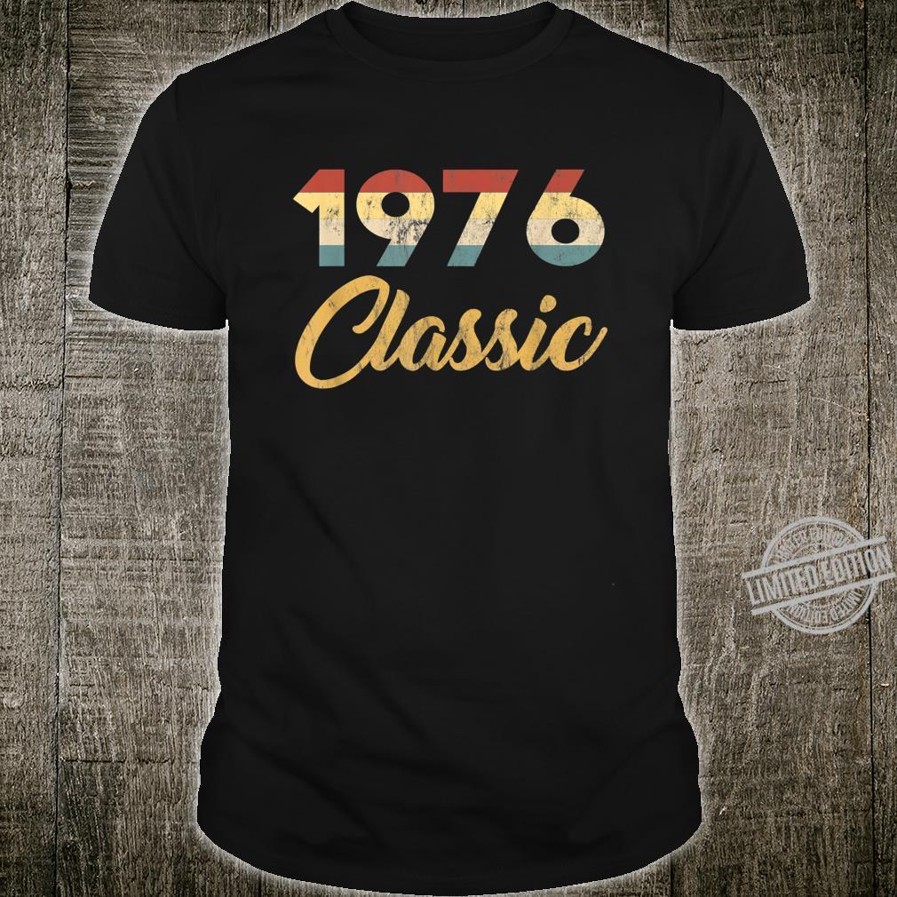 Geboren 1976 Klassische 70er Feier Retro 44. Geburtstag Shirt