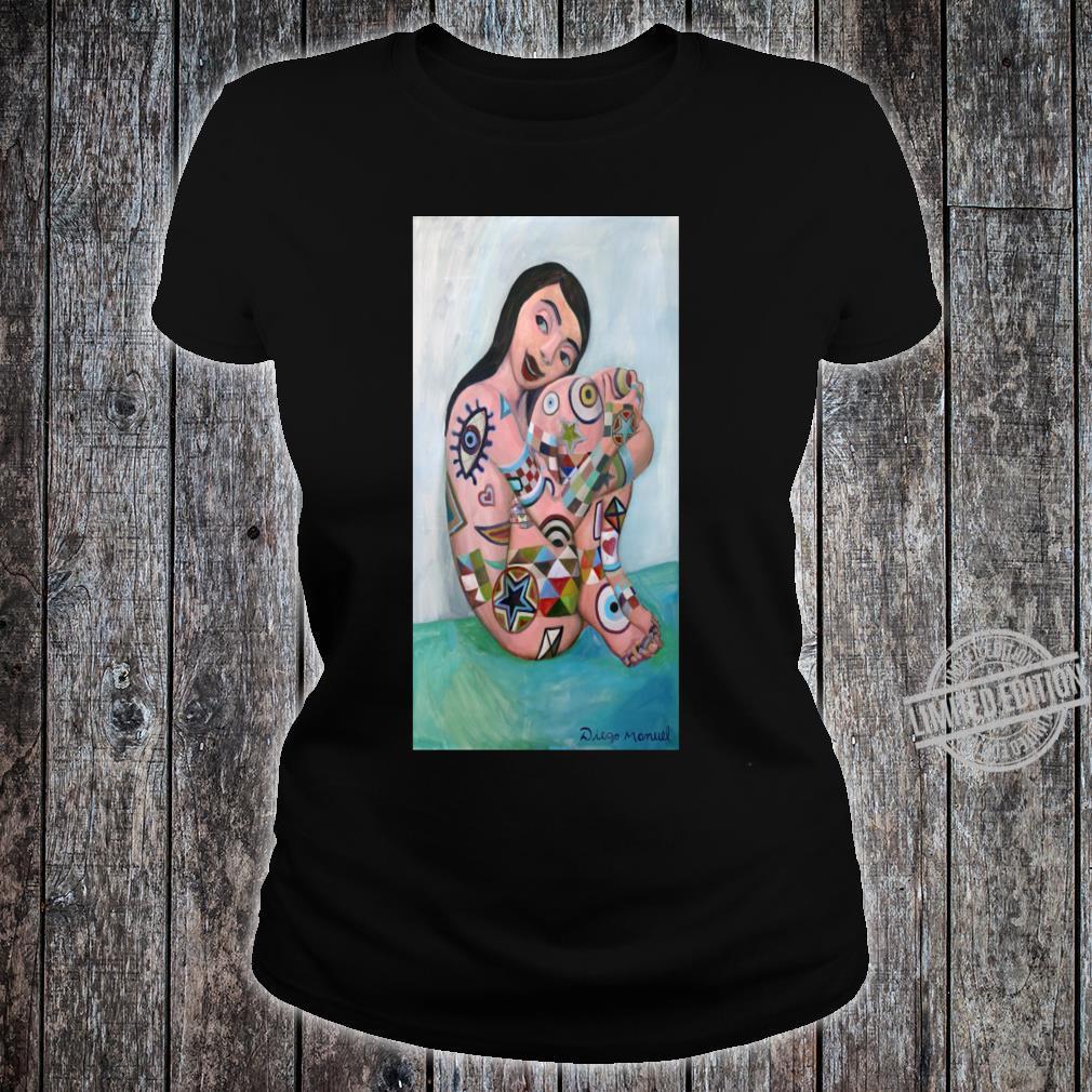 Girl Tattoos Shirt ladies tee