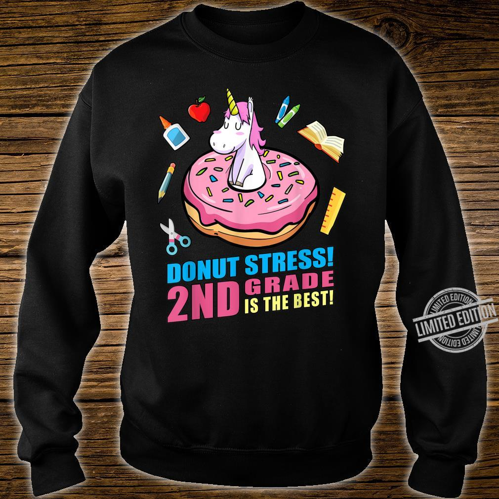 Girls Back to School Magical Unicorn 2nd Grade Shirt sweater