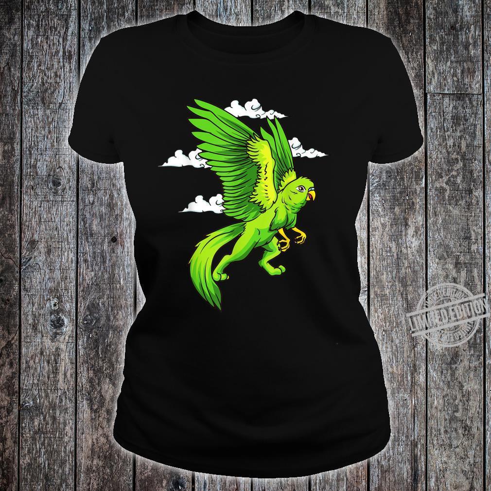 Griffin Parrot Griffin Shirt ladies tee