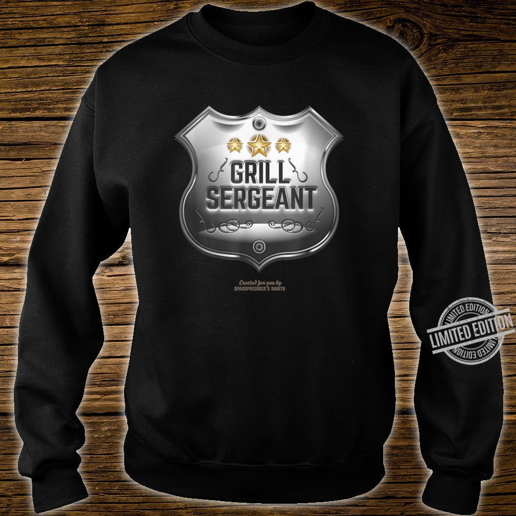 Grill Sergeant Design for BBQ Fans Shirt sweater