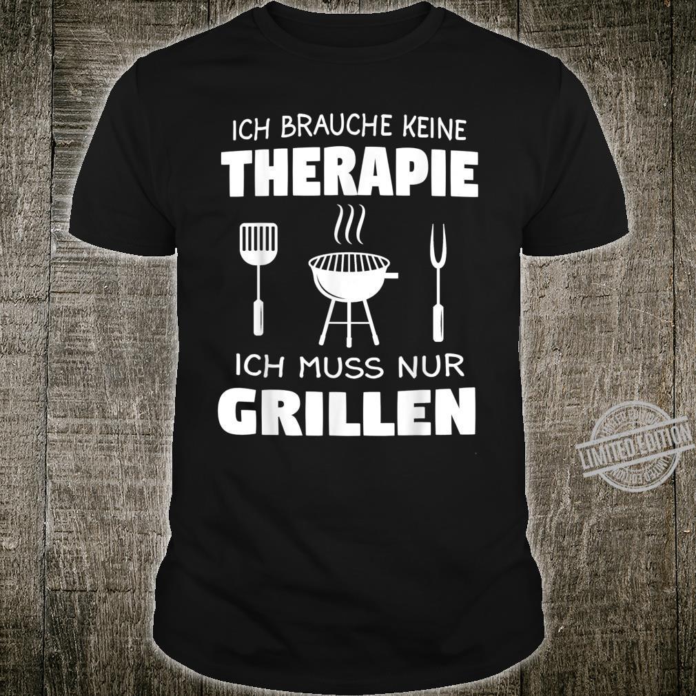 Grillen Griller BBQ Fleisch Geschenk Shirt