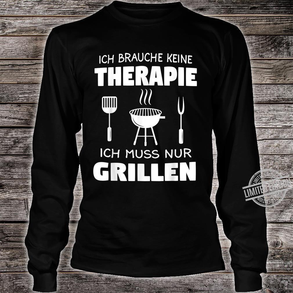 Grillen Griller BBQ Fleisch Geschenk Shirt long sleeved