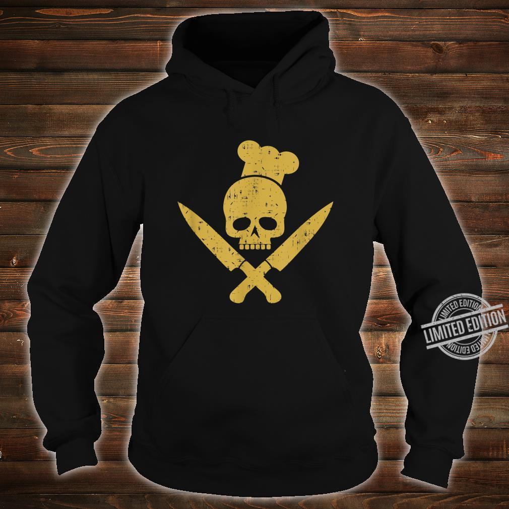 Grillen Grillsaison Totenkopf BBQ Designs für Grillfans Shirt hoodie