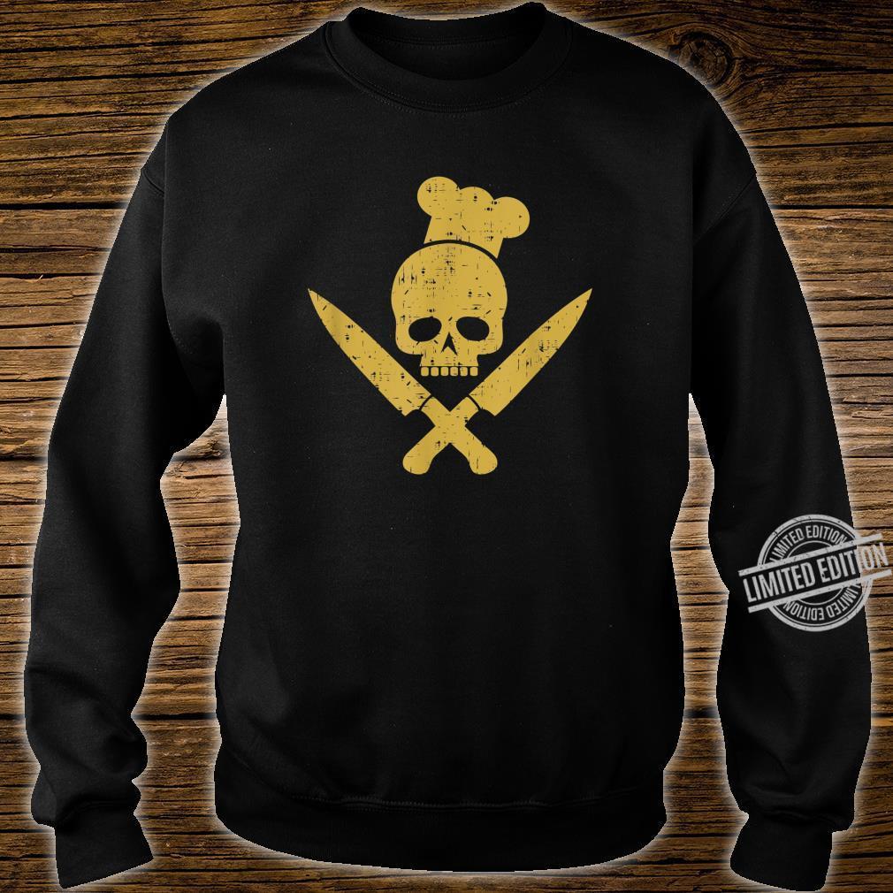 Grillen Grillsaison Totenkopf BBQ Designs für Grillfans Shirt sweater