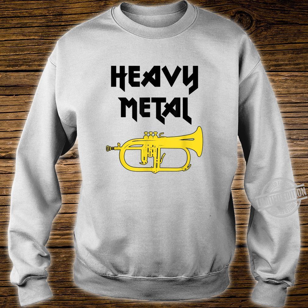 HEAVY METAL Flügelhorn Geschenk, lustiges Flügelhorn Shirt sweater