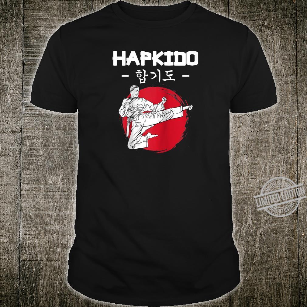 Hapkido Korean Martial Arts Kicks Punches Throwing Idea Shirt