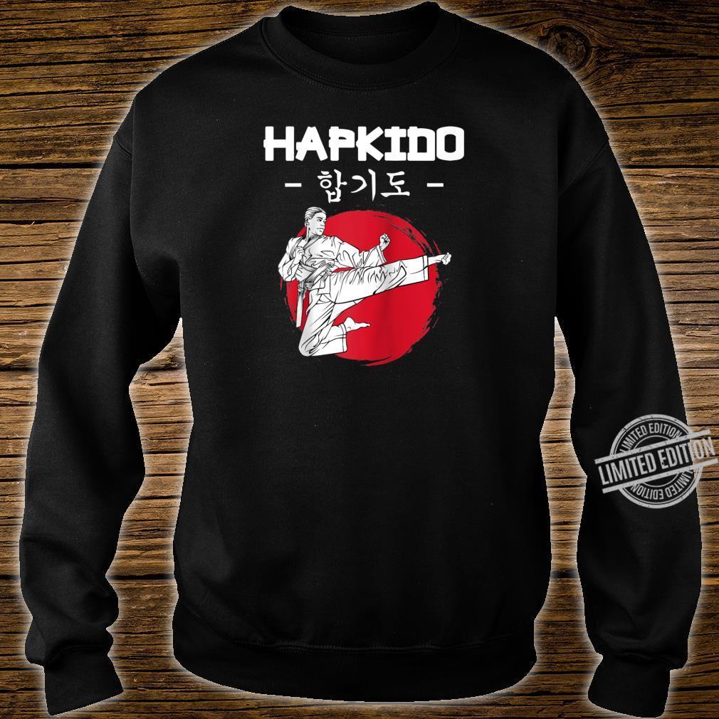 Hapkido Korean Martial Arts Kicks Punches Throwing Idea Shirt sweater