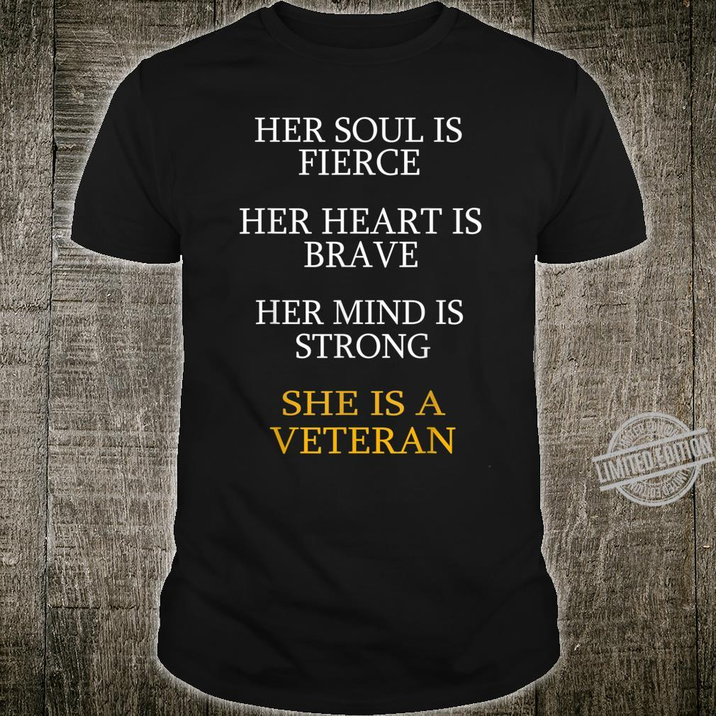 Her Soul Is Fierce Her Heart Is Brave Shirt