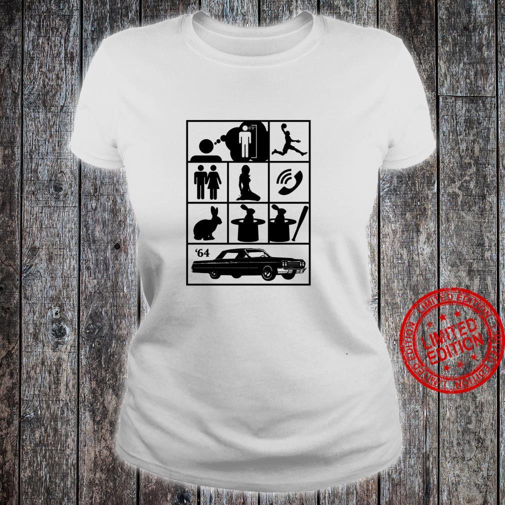 I Wish I Was a Little Bit Taller Old School Hip Hop 2 Shirt ladies tee