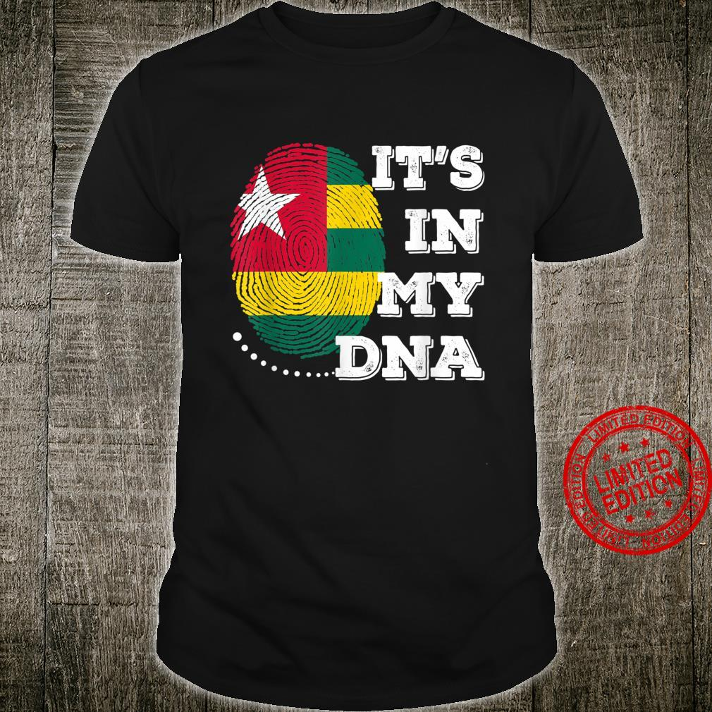 IT'S IN MY DNA Togo Flag Shirt
