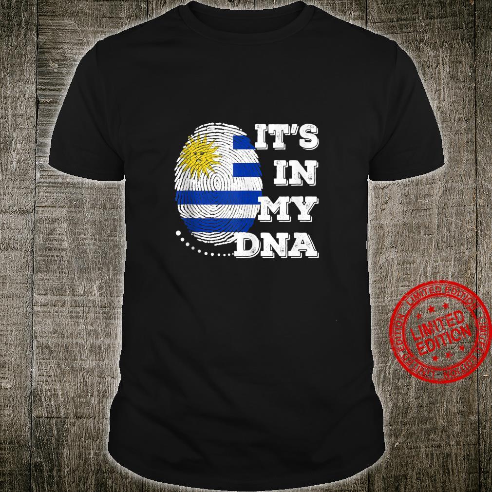 IT'S IN MY DNA Uruguay Flag Shirt