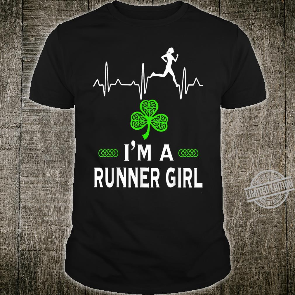 I'm a Runner girl for St Patrick's Day Shirt