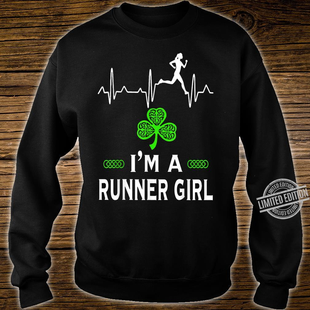 I'm a Runner girl for St Patrick's Day Shirt sweater