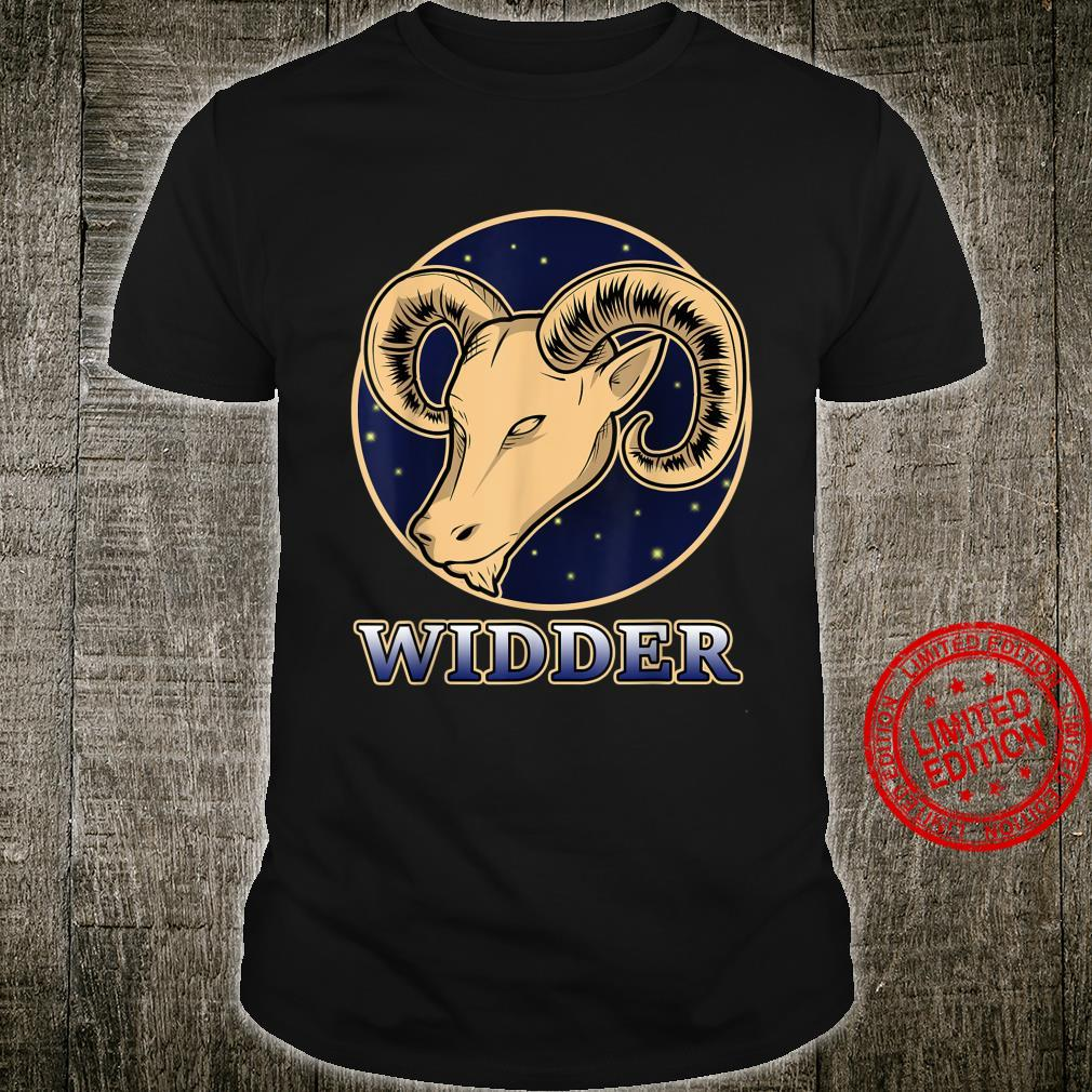 Konstellation Horoskop Aszendent Aries Sternzeichen Widder Shirt