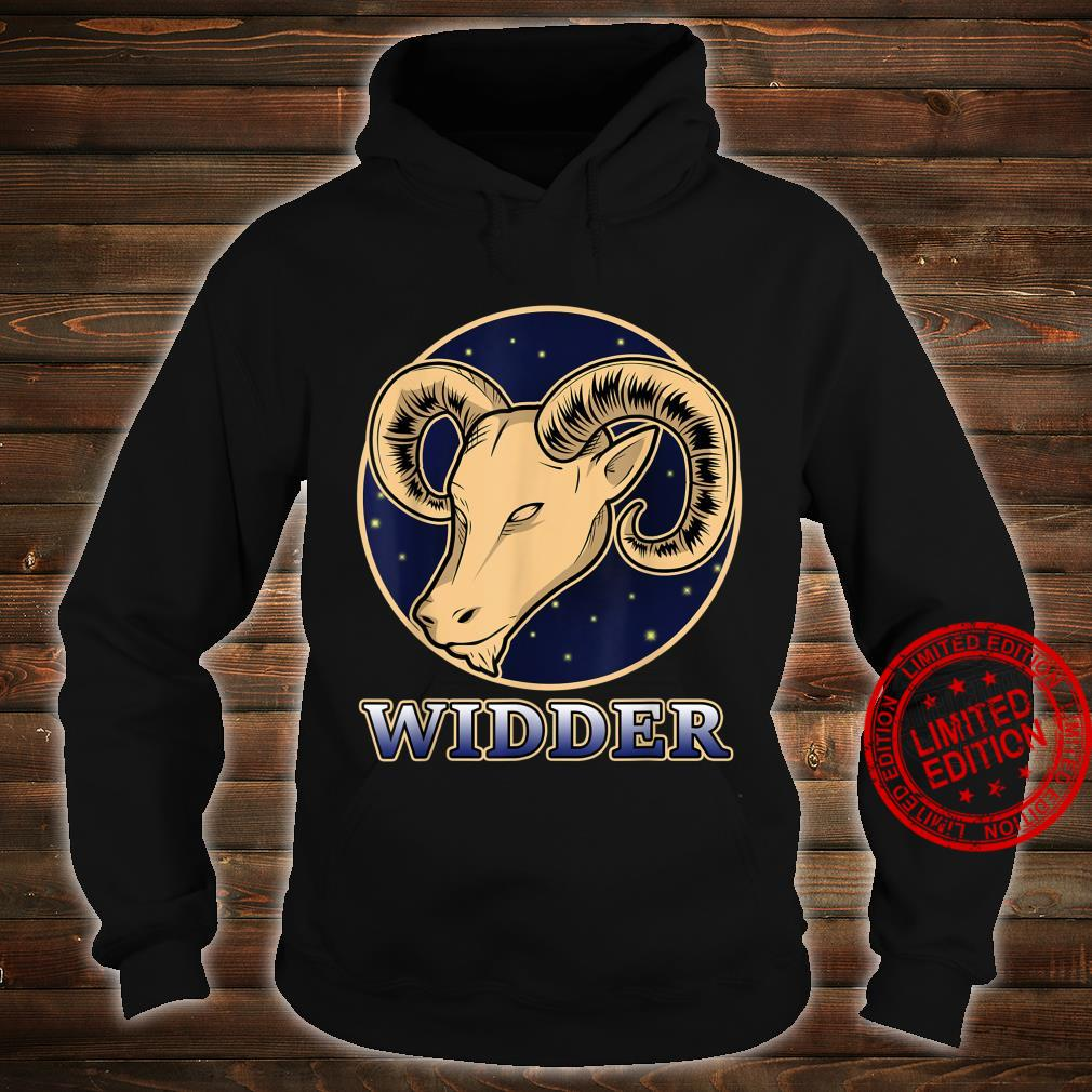 Konstellation Horoskop Aszendent Aries Sternzeichen Widder Shirt hoodie