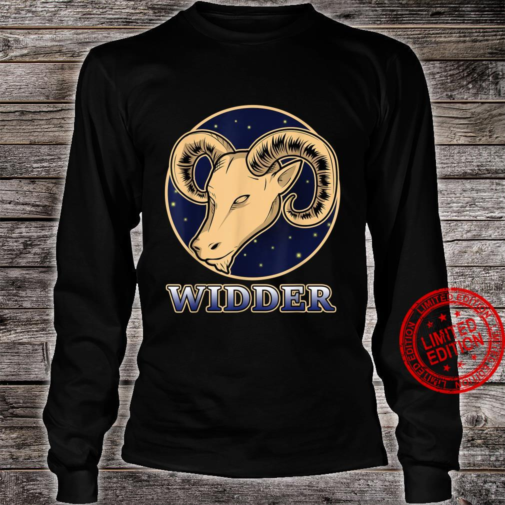 Konstellation Horoskop Aszendent Aries Sternzeichen Widder Shirt long sleeved