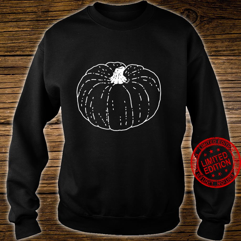Kürbis Distressed Classic Vintage Kürbis Langarmshirt Shirt sweater