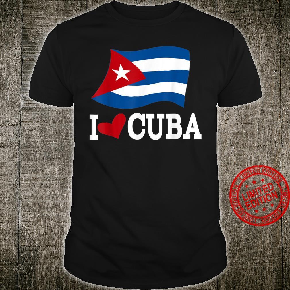 Kubanische Flagge Kuba Spanisches Havana Shirt