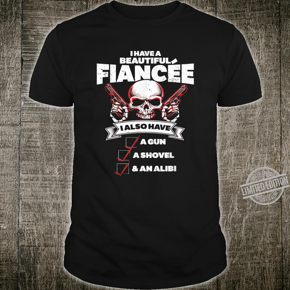 Mens Engaged Boyfriend Fiance Engagement For Him Shirt
