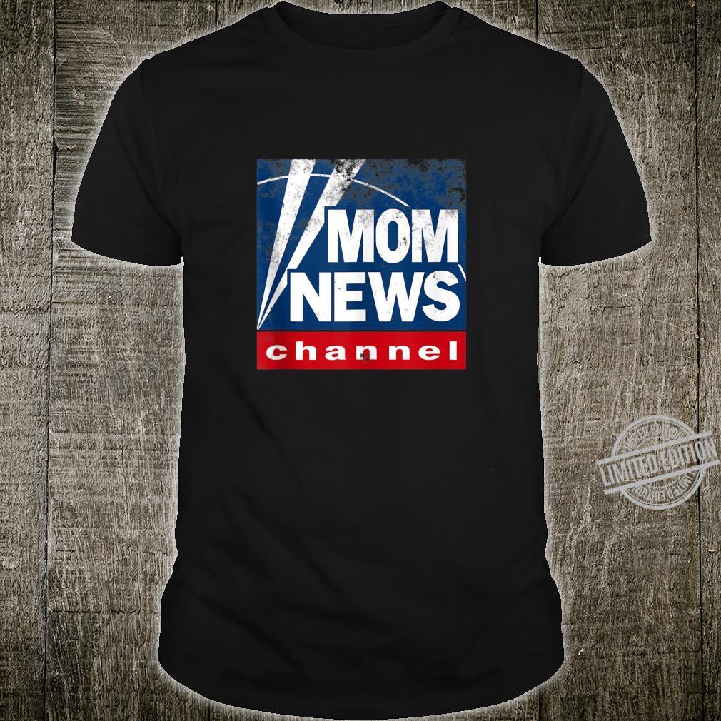 Mommy News President News Pun Shirt