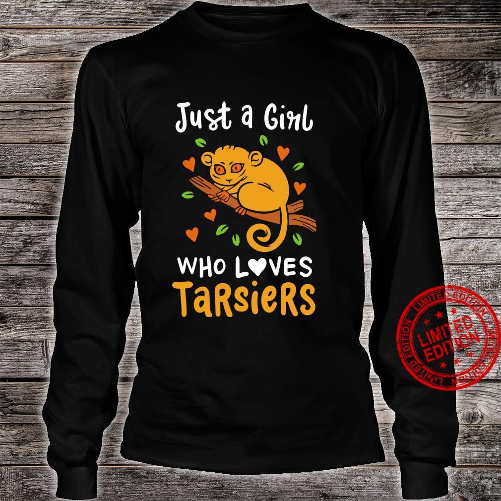 Philippines Tarsier Cute Shirt long sleeved