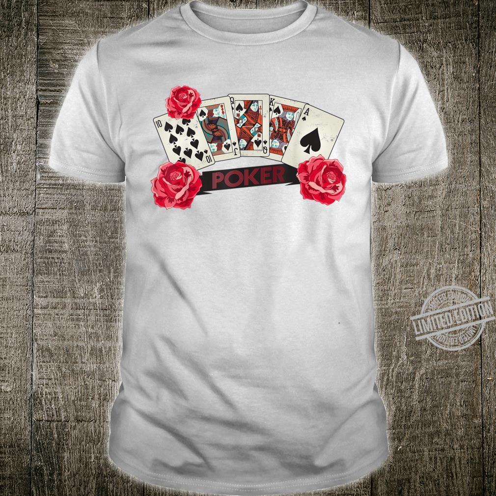 Poker Royal flush Shirt