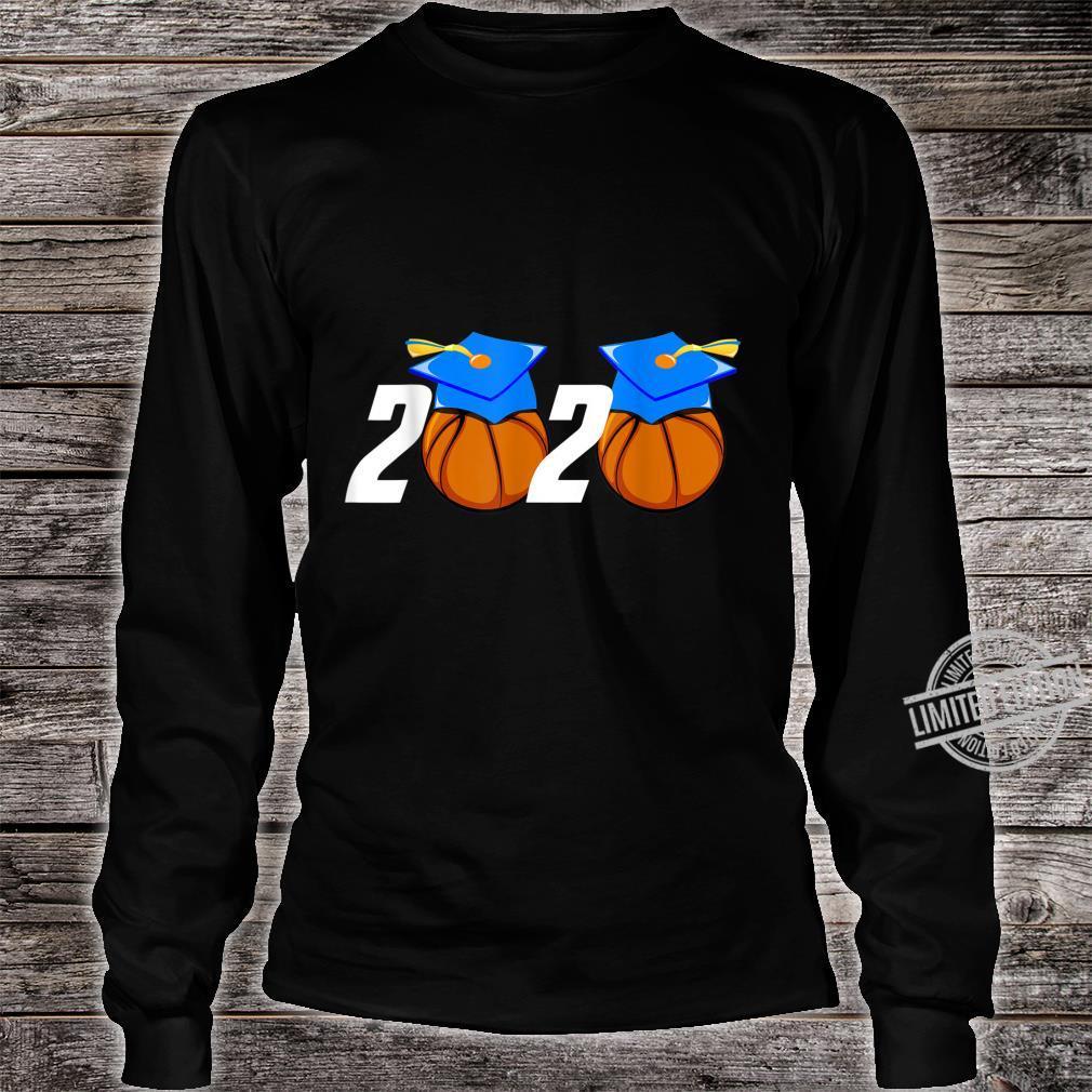 Senior 2020 Player Graduate Grad Basketball Shirt long sleeved