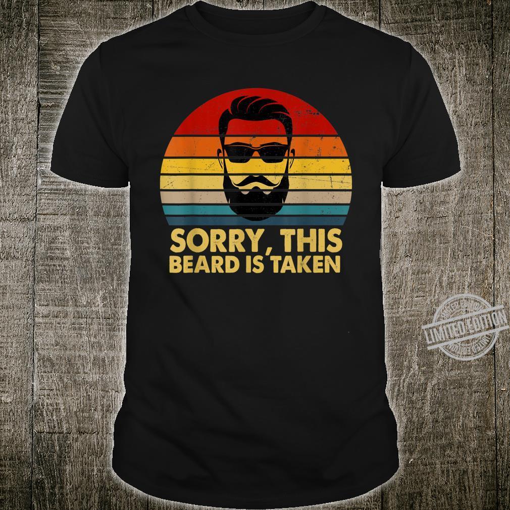 Sorry This Beard Is Taken Vintage Shirt