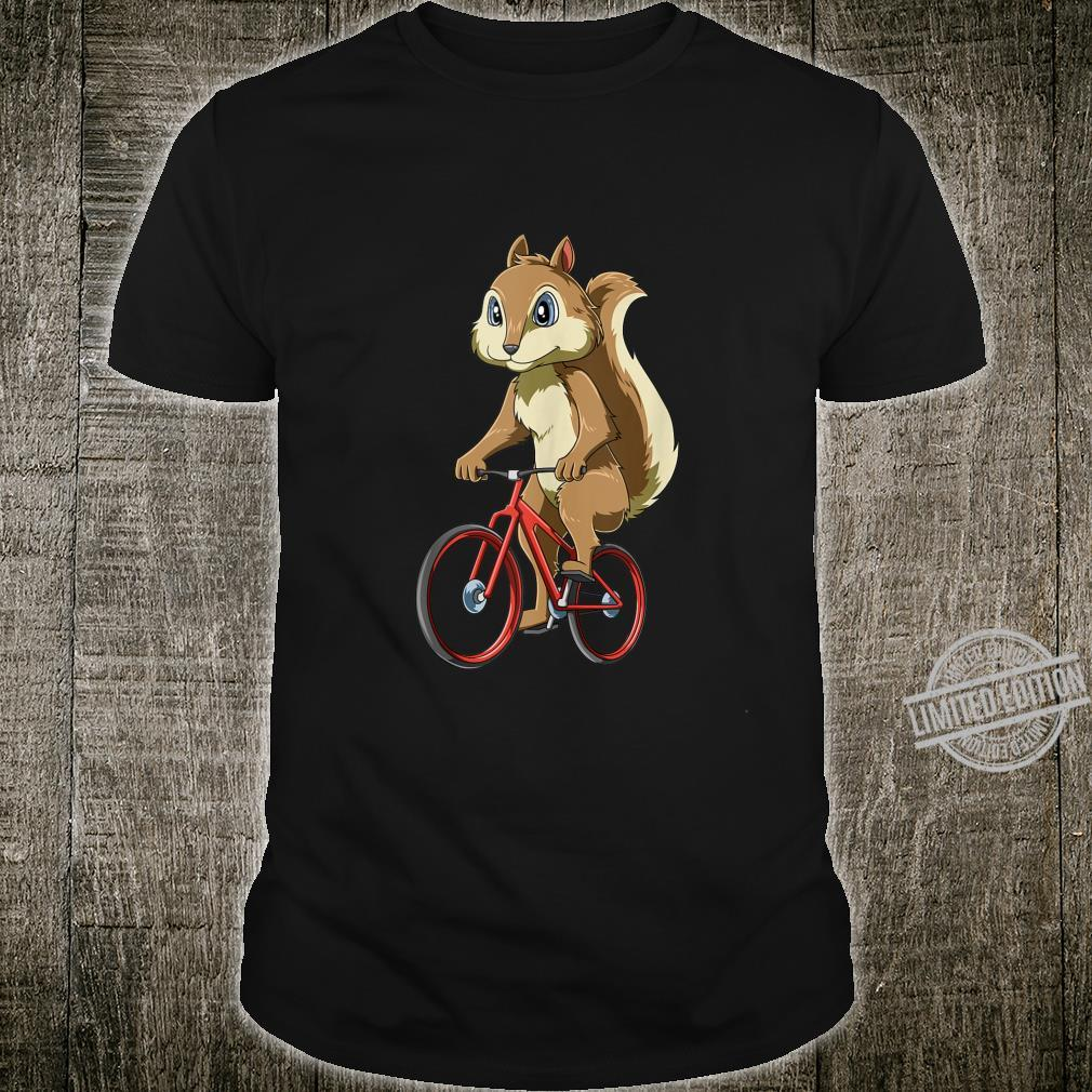 Squirrel Riding a Bicycle Cycling Squirrels Cyclists Shirt