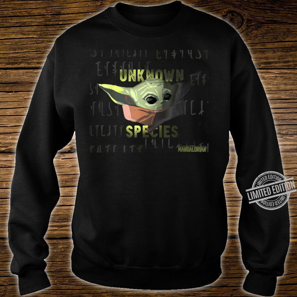 Star Wars Fille The Mandalorian Unknown Species Sweat-Shirt