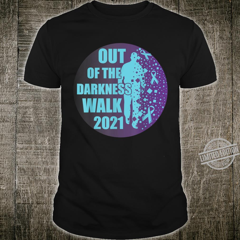 Sucide Awareness, Encouraging, 'Out of the darkness walk' Shirt