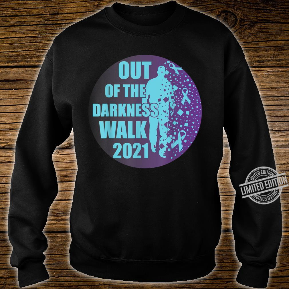 Sucide Awareness, Encouraging, 'Out of the darkness walk' Shirt sweater