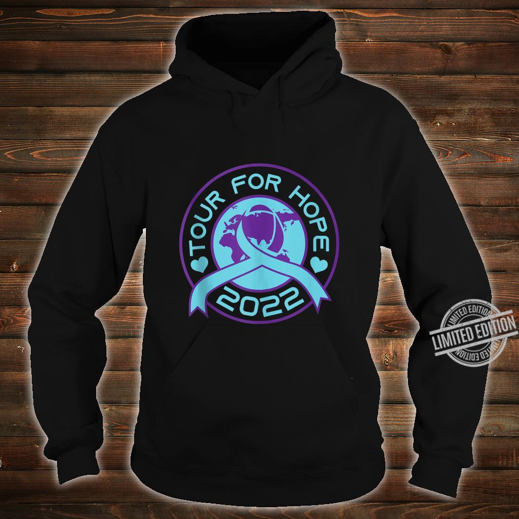 Sucide Awareness, Encouraging, 'Tour for Hope 2022' Shirt hoodie