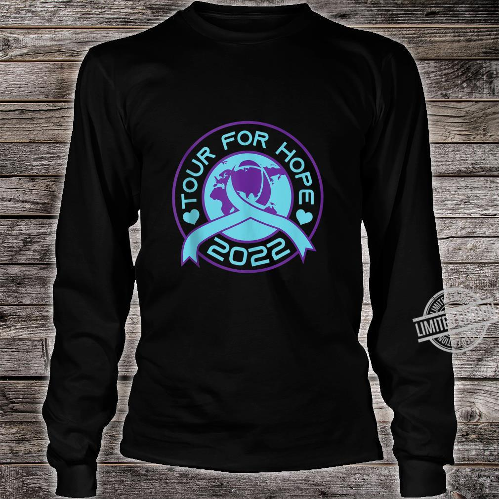 Sucide Awareness, Encouraging, 'Tour for Hope 2022' Shirt long sleeved