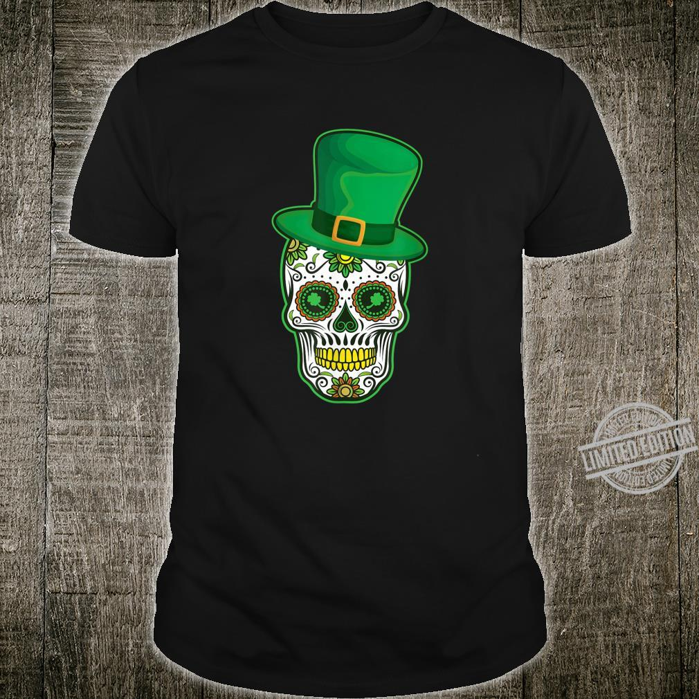 Sugar Skull St Patricks Shirt