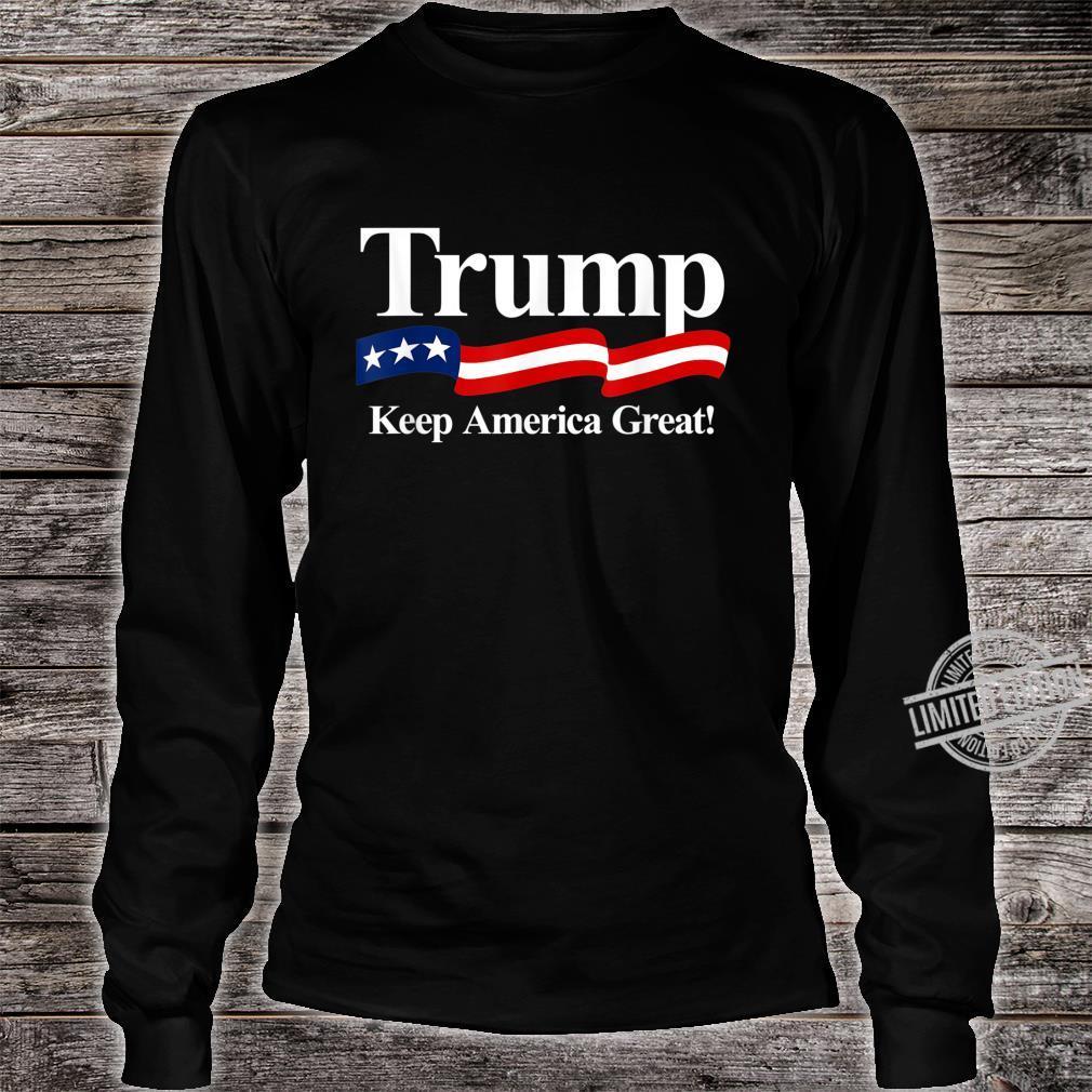 Trump 2020 Keep America Great Shirt long sleeved