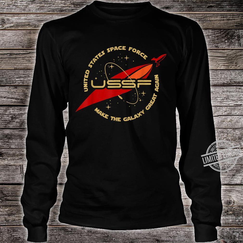 United States Space Force Make The Galaxy Great Again Shirt long sleeved