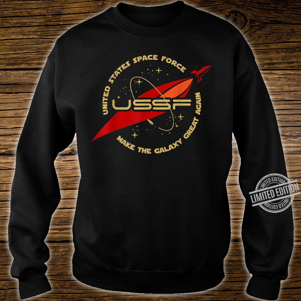 United States Space Force Make The Galaxy Great Again Shirt sweater