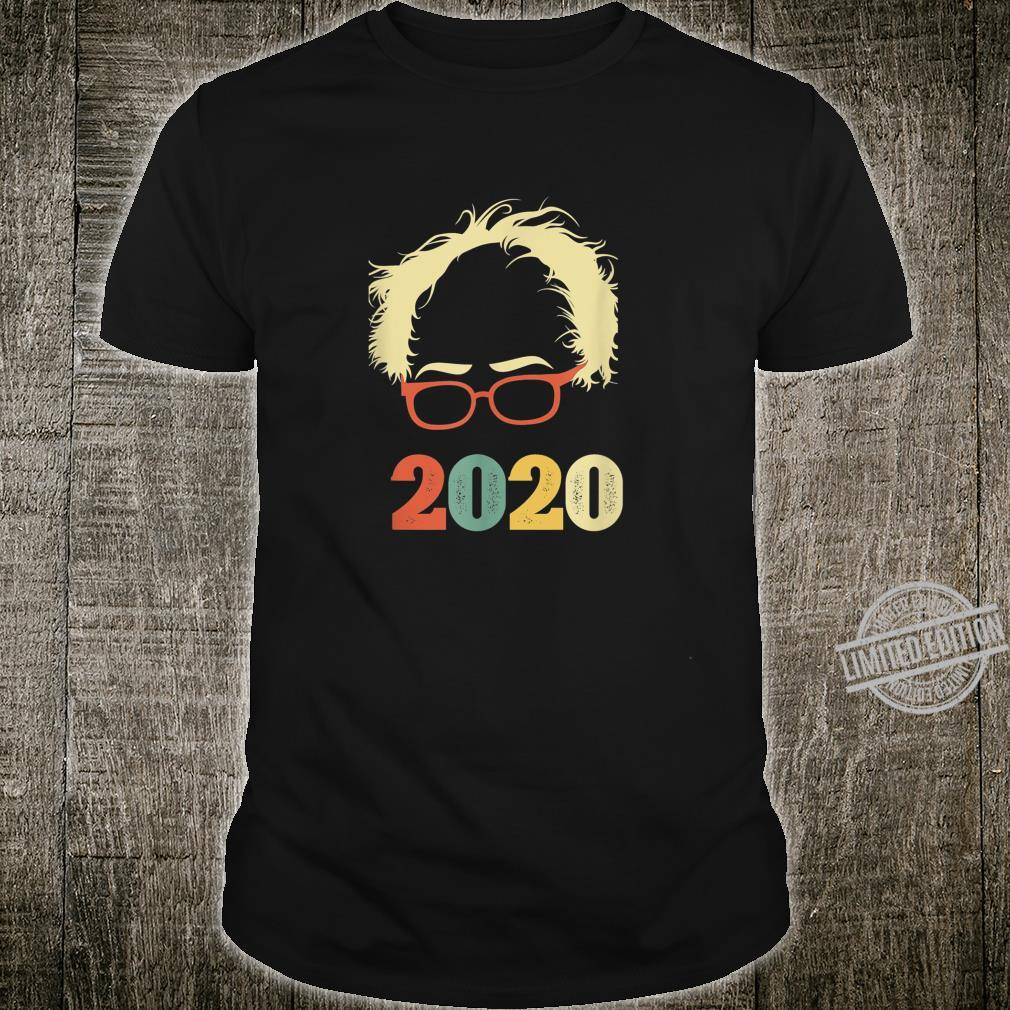 Vintage Bernie 2020 Glasses Hair Vintage Bernie Sanders Shirt