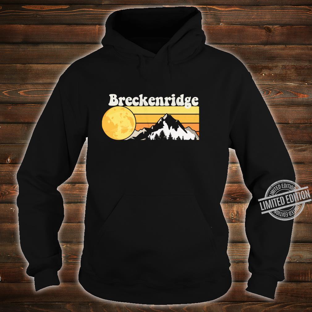 Vintage Retro 70s Breckenridge, CO Shirt hoodie