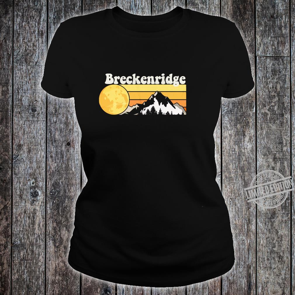 Vintage Retro 70s Breckenridge, CO Shirt ladies tee
