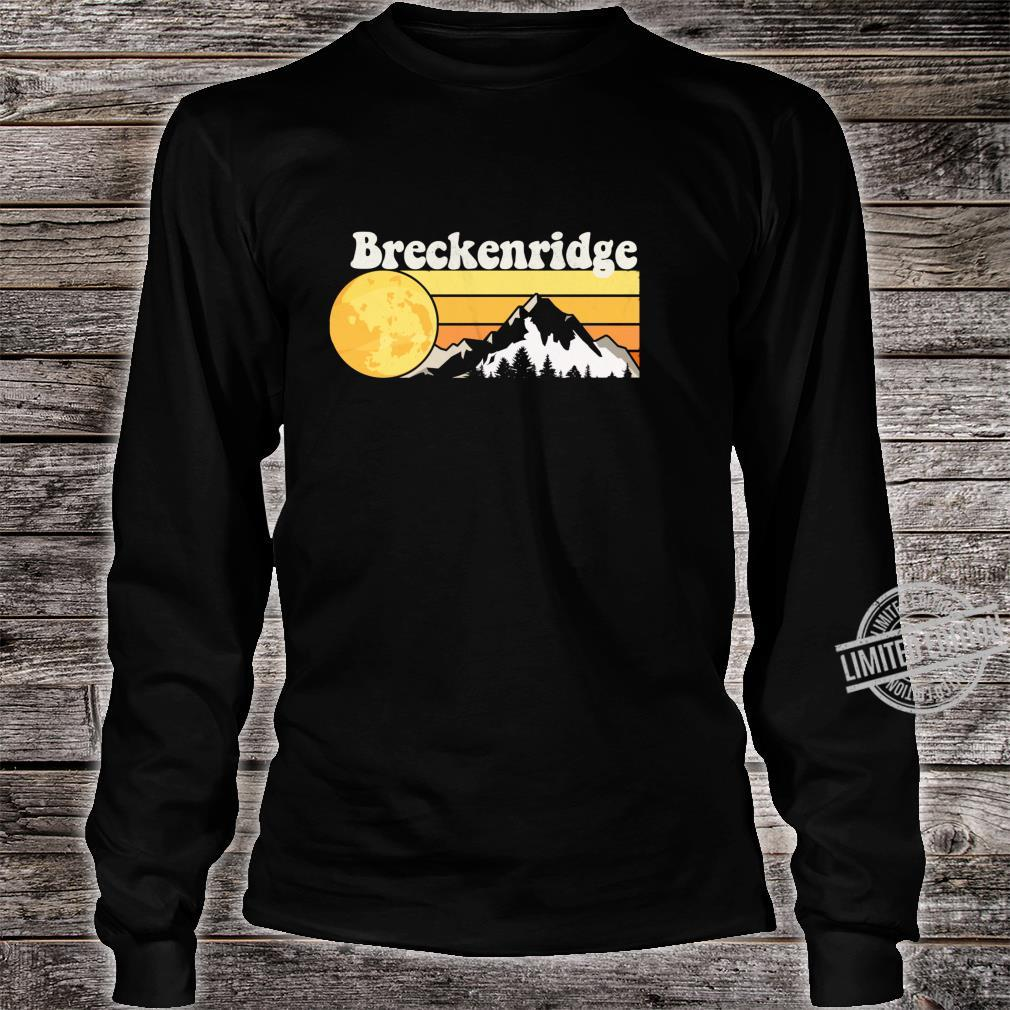 Vintage Retro 70s Breckenridge, CO Shirt long sleeved